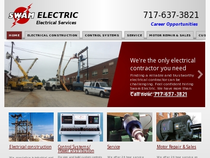 Swam Electric| Electrical Contractor | Electrician | Hanover, PA